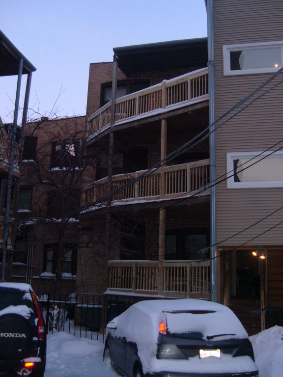 Real Estate Management Porch Repairs